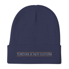Load image into Gallery viewer, Embroidered Beanie Embroidered Beanie Aighard Navy 5 3446515_4523 Embroidered Beanie