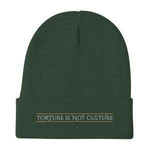 Embroidered Beanie Embroidered Beanie Aighard Dark green 6 3446515_4526 Embroidered Beanie