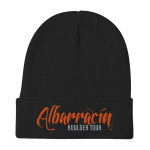 Embroidered Beanie Embroidered Beanie Aighard Black 1 4777655_4522 Embroidered Beanie