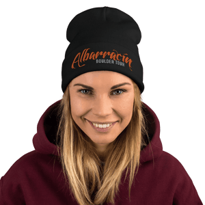 Embroidered Beanie Embroidered Beanie Aighard Black 3 4777655_4522 Embroidered Beanie
