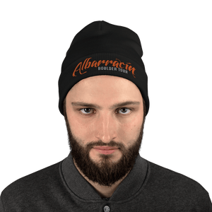 Embroidered Beanie Embroidered Beanie Aighard Black 2 4777655_4522 Embroidered Beanie