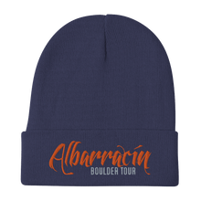 Load image into Gallery viewer, Embroidered Beanie Embroidered Beanie Aighard Navy 4 4777655_4523 Embroidered Beanie