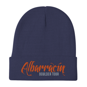 Embroidered Beanie Embroidered Beanie Aighard Navy 4 4777655_4523 Embroidered Beanie