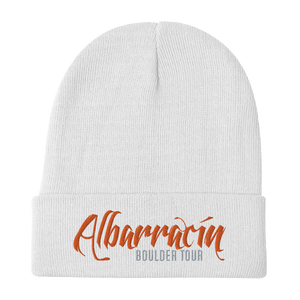 Embroidered Beanie Embroidered Beanie Aighard White 7 4777655_4525 Embroidered Beanie