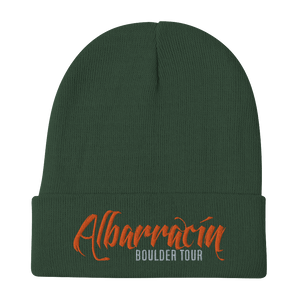 Embroidered Beanie Embroidered Beanie Aighard Dark green 5 4777655_4526 Embroidered Beanie