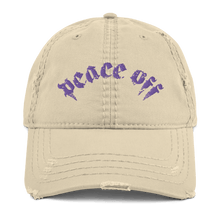 Load image into Gallery viewer, Embroidered Distressed Cap Embroidered Distressed Cap Aighard Khaki 3 4589855 Embroidered Distressed Cap