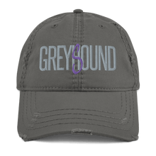 Load image into Gallery viewer, Embroidered Distressed Cap Embroidered Distressed Cap Hat Aighard Charcoal Grey 2 3891477_10992 Embroidered Distressed Cap