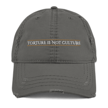Load image into Gallery viewer, Embroidered Distressed Cap Aighard Charcoal Grey 3 6958092_10992 Embroidered Distressed Cap
