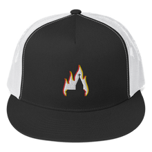 Load image into Gallery viewer, Embroidered Trucker Cap Embroidered Trucker Cap Aighard Black/ White 1 3511397 Embroidered Trucker Cap