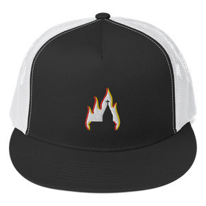 Embroidered Trucker Cap Embroidered Trucker Cap Aighard Black/ White 1 3511397 Embroidered Trucker Cap