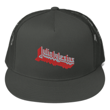 Load image into Gallery viewer, Embroidered Trucker Cap Embroidered Trucker Cap Aighard Charcoal 3 7366786 Embroidered Trucker Cap