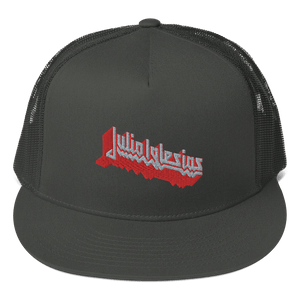 Embroidered Trucker Cap Embroidered Trucker Cap Aighard Charcoal 3 7366786 Embroidered Trucker Cap
