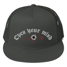 Load image into Gallery viewer, Embroidered Trucker Cap Embroidered Trucker Cap Aighard Charcoal 3 7629233 Embroidered Trucker Cap