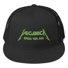 Load image into Gallery viewer, Embroidered Trucker Cap Embroidered Trucker Cap Aighard Black 2 4842453 Embroidered Trucker Cap