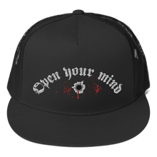 Load image into Gallery viewer, Embroidered Trucker Cap Embroidered Trucker Cap Aighard Black 2 3997500 Embroidered Trucker Cap