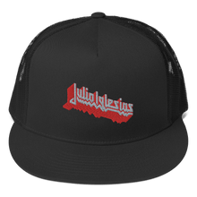 Load image into Gallery viewer, Embroidered Trucker Cap Embroidered Trucker Cap Aighard Black 2 2964162 Embroidered Trucker Cap