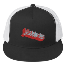 Load image into Gallery viewer, Embroidered Trucker Cap Embroidered Trucker Cap Aighard Black/ White 1 7175010 Embroidered Trucker Cap