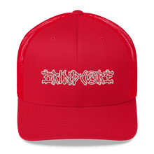 Load image into Gallery viewer, Embroidered Trucker Cap Embroidered Trucker Cap Hat Aighard Red 6 6026681_8754 Embroidered Trucker Cap