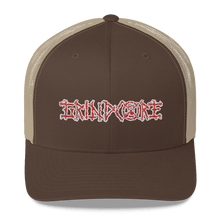 Load image into Gallery viewer, Embroidered Trucker Cap Embroidered Trucker Cap Hat Aighard Brown/ Khaki 5 6026681_8749 Embroidered Trucker Cap