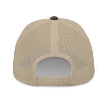 Load image into Gallery viewer, Embroidered Trucker Cap Embroidered Trucker Cap Hat Aighard Brown/ Khaki 14 6534881_8749 Embroidered Trucker Cap