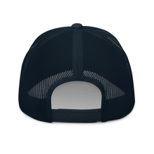 Load image into Gallery viewer, Embroidered Trucker Cap Embroidered Trucker Cap Hat Aighard Navy 8 6534881_8751 Embroidered Trucker Cap