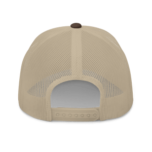 Embroidered Trucker Cap Embroidered Trucker Cap Hat Aighard Brown/ Khaki 14 6754383_8749 Embroidered Trucker Cap