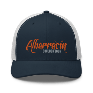 Embroidered Trucker Cap Embroidered Trucker Cap Hat Aighard Navy/ White 10 6754383_8755 Embroidered Trucker Cap