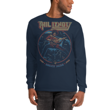 Load image into Gallery viewer, Unisex Long Sleeve Shirt Unisex Long Sleeve Shirt Aighard Navy S 3 4536541_3544 Unisex Long Sleeve Shirt