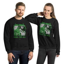 Load image into Gallery viewer, Unisex Sweatshirt Unisex Sweatshirt Aighard Black S 1 2107750 Unisex Sweatshirt