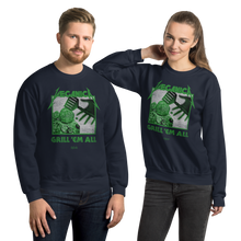 Load image into Gallery viewer, Unisex Sweatshirt Unisex Sweatshirt Aighard Navy S 6 4826737 Unisex Sweatshirt