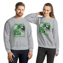 Load image into Gallery viewer, Unisex Sweatshirt Unisex Sweatshirt Aighard Sport Grey S 7 9192702 Unisex Sweatshirt