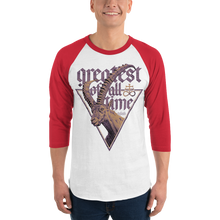 Load image into Gallery viewer, Unisex 3/4 Sleeve Raglan Shirt