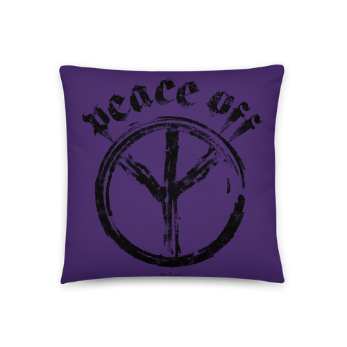 Peace Off | Pillow Aighard Merchandise Webshop Anti Love Hippie