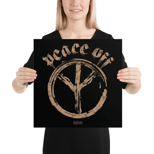 Peace Off | Poster Aighard Merchandise Webshop Anti Love Hippie