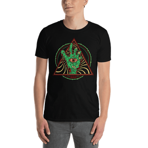 Short-Sleeve Unisex T-Shirt Aighard Black S 1 9041020_474 Short-Sleeve Unisex T-Shirt