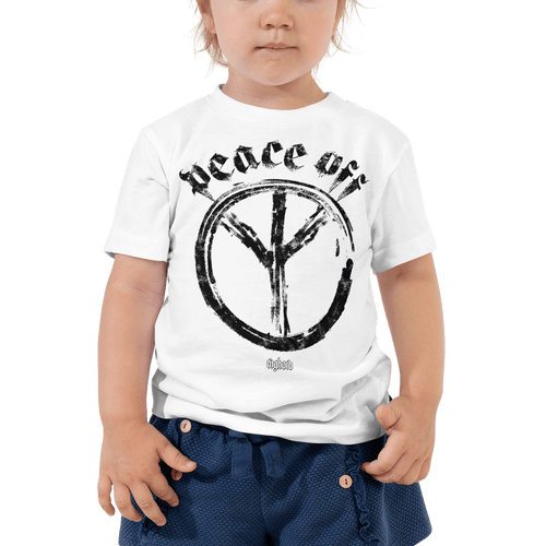 Peace Off | Toddler T-shirt Aighard Merchandise Webshop Anti Love Hippie