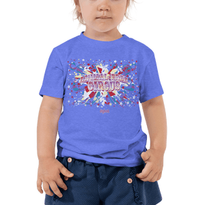 Toddler T-shirt Toddler T-shirt Aighard Heather Columbia Blue 2T 3 5126649 Toddler T-shirt