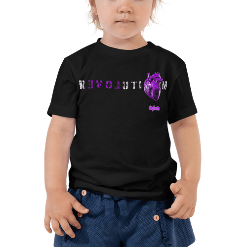 Revolution (Purple) | Toddler T-shirt Aighard Merchandise Webshop Activist Anti Activism