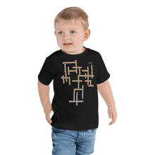 Load image into Gallery viewer, Toddler T-shirt Aighard Black 2T 2 9243040_9422 Toddler T-shirt