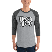 Load image into Gallery viewer, Unisex 3/4 Sleeve Raglan Shirt Unisex 3/4 Sleeve Raglan Shirt Aighard Heather Grey/Heather Charcoal S 5 2488638 Unisex 3/4 Sleeve Raglan Shirt