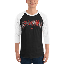 Load image into Gallery viewer, Unisex 3/4 Sleeve Raglan Shirt Unisex 3/4 Sleeve Raglan Shirt Aighard XS 1 3671121 Unisex 3/4 Sleeve Raglan Shirt