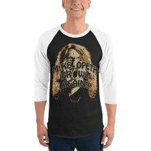 Load image into Gallery viewer, Unisex 3/4 Sleeve Raglan Shirt Unisex 3/4 Sleeve Raglan Shirt Aighard Black/White XS 1 5737143 Unisex 3/4 Sleeve Raglan Shirt