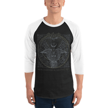 Load image into Gallery viewer, Unisex 3/4 Sleeve Raglan Shirt Unisex 3/4 Sleeve Raglan Shirt Aighard XS 1 5526156 Unisex 3/4 Sleeve Raglan Shirt