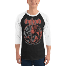 Load image into Gallery viewer, Unisex 3/4 Sleeve Raglan Shirt Unisex 3/4 Sleeve Raglan Shirt Aighard Black/White XS 1 9244510 Unisex 3/4 Sleeve Raglan Shirt