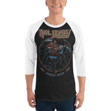 Load image into Gallery viewer, Unisex 3/4 Sleeve Raglan Shirt Unisex 3/4 Sleeve Raglan Shirt Aighard Black/White XS 1 4852037_8158 Unisex 3/4 Sleeve Raglan Shirt