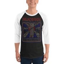 Load image into Gallery viewer, Unisex 3/4 Sleeve Raglan Shirt Unisex 3/4 Sleeve Raglan Shirt Aighard XS 1 2623986_8158 Unisex 3/4 Sleeve Raglan Shirt