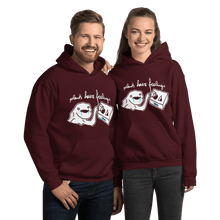 Load image into Gallery viewer, Unisex Hoodie Unisex Hoodie Aighard Maroon S 8 8412183 Unisex Hoodie