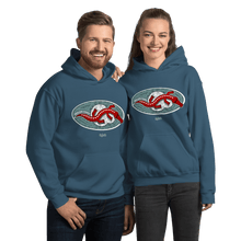 Load image into Gallery viewer, Unisex Hoodie Unisex Hoodie Aighard Indigo Blue S 6 5071164 Unisex Hoodie
