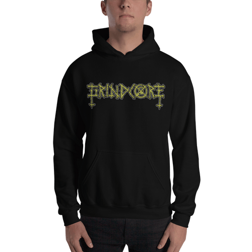 Grindcore | Unisex Hoodie (Front + Back) Aighard Merchandise Webshop carcass crust punk brutal truth