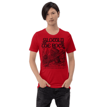 Load image into Gallery viewer, Unisex (Lightweight) T-shirt Aighard Red S 19 5908780_4141 Unisex (Lightweight) T-shirt